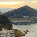 犬山善光寺の開けた所から見えた景色 No - 5:犬山城と伊木山、ライン大橋