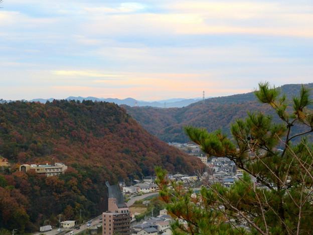 犬山善光寺の展望台から見た景色 No - 2:北東側