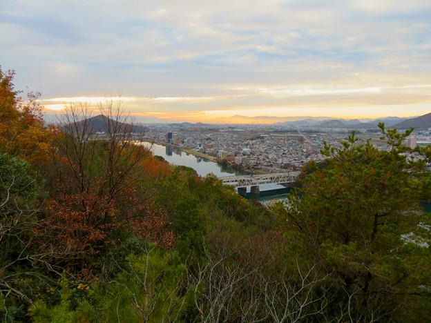 犬山善光寺の展望台から見た景色 No - 4:西側