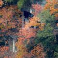 犬山善光寺の展望台から見た景色 No - 16:城山荘のテラス?