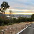 東之宮古墳 No - 7:整備途中の古墳までの道から見た景色