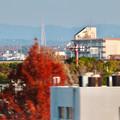 名古屋高速から見えた瀬戸デジタルタワー
