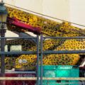 Photos: リニューアル工事中の久屋大通公園にヒョウ柄のクレーン車!? - 2