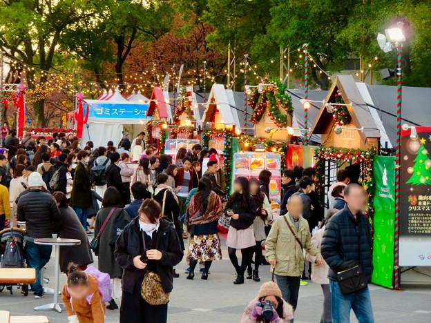 名古屋クリスマスマーケット 2019 No - 7:来場していた大勢の人たち
