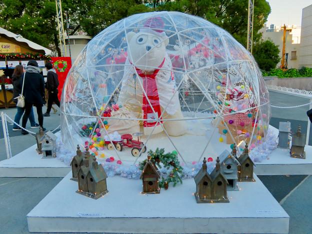 名古屋クリスマスマーケット 2019 No - 8:シロクマのドーム