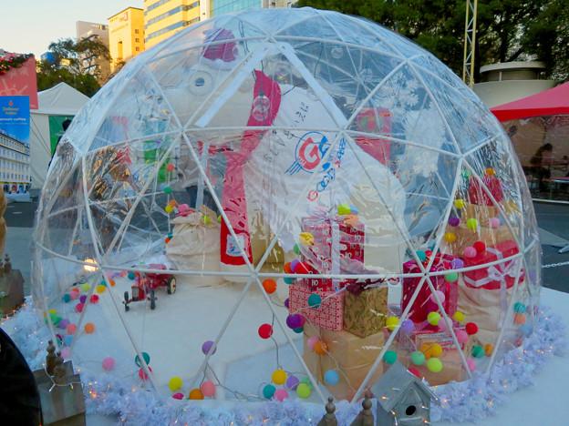 名古屋クリスマスマーケット 2019 No - 9:シロクマのドーム