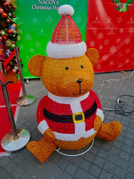 名古屋クリスマスマーケット 2019 No - 17:クマのイルミネーション