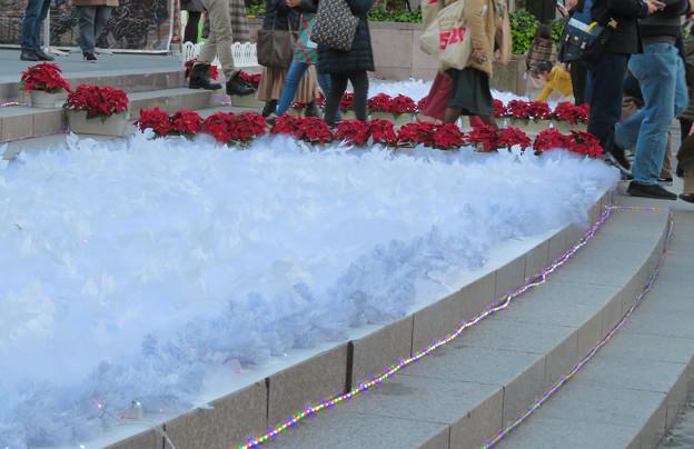 名古屋クリスマスマーケット 2019 No - 29:雪の装飾