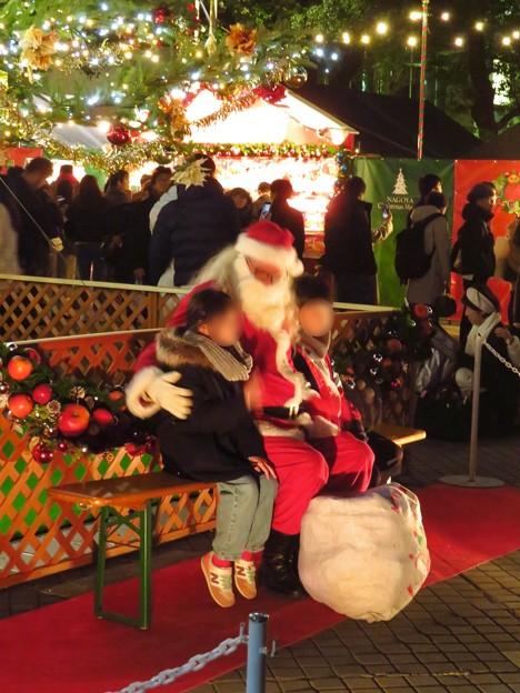 夜の名古屋クリスマスマーケット 2019 No - 13:サンタクロース