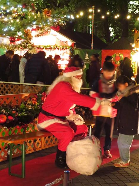 夜の名古屋クリスマスマーケット 2019 No - 14:サンタクロース