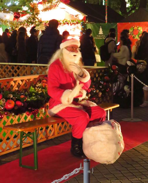 Photos: 夜の名古屋クリスマスマーケット 2019 No - 15:サンタクロース