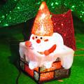 夜の名古屋クリスマスマーケット 2019 No - 28:小さいサンタクロースのイルミネーション