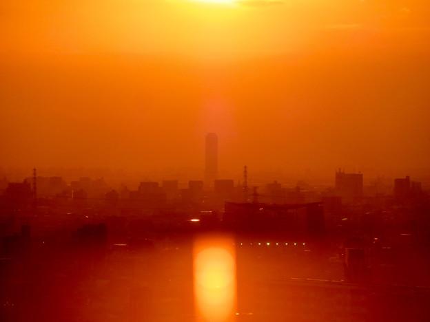 アピタ高蔵寺店から見た夕暮れ時の景色 - 5:ザ・シーン城北