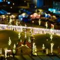 Photos: グローバルゲートから見下ろした夜の「ささしまクリスマス」会場(ミニチュアライズ)- 1