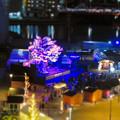 Photos: グローバルゲートから見下ろした夜の「ささしまクリスマス」会場(ミニチュアライズ)- 2