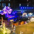 Photos: グローバルゲートから見下ろした夜の「ささしまクリスマス」会場(ミニチュアライズ)- 3