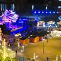 Photos: グローバルゲートから見下ろした夜の「ささしまクリスマス」会場(ミニチュアライズ)- 4