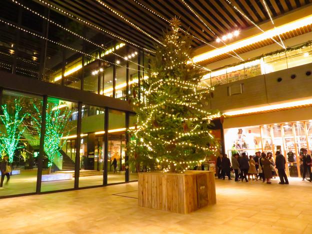 グローバルゲート1階のクリスマスイルミネーション - 1