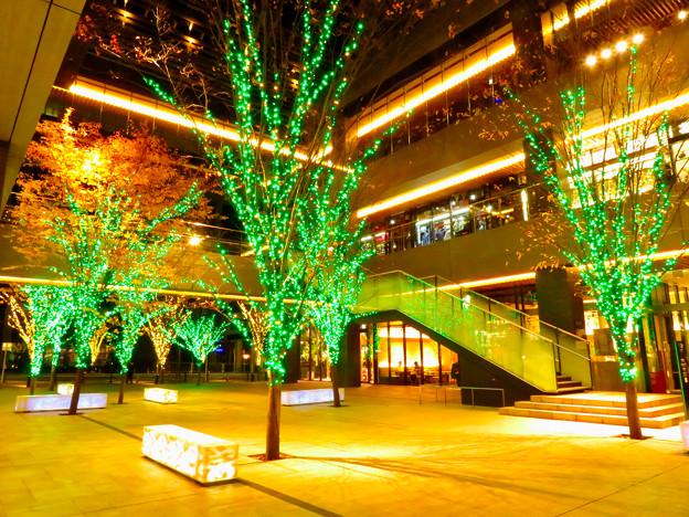 グローバルゲート1階のクリスマスイルミネーション - 2