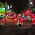 シートレインランドのクリスマスイルミネーション - 8:サンタのゲート
