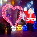 Photos: フラリエのクリスマスイルミネーション 2019:サンタとハートのイルミネーション - 2