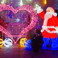 フラリエのクリスマスイルミネーション 2019:サンタとハートのイルミネーション - 6