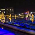 Photos: オアシス21:今年のクリスマスイルミネーションは沢山のツリーが並ぶ「ウォーターツリークリスマス」- 10