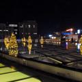 オアシス21:今年のクリスマスイルミネーションは沢山のツリーが並ぶ「ウォーターツリークリスマス」- 11