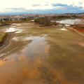 Photos: 落合公園水の塔から見た景色 - 5:池干し中の落合公園
