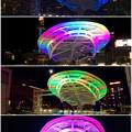 Photos: 様々な色に変化するオアシス21のイルミネーション - 1