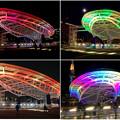 Photos: 様々な色に変化するオアシス21のイルミネーション - 3