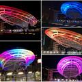 Photos: 様々な色に変化するオアシス21のイルミネーション - 4