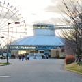 夕暮れ時の愛知県児童センター - 1