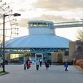 夕暮れ時の愛知県児童センター - 2