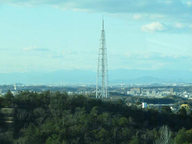 陶磁資料館南駅付近から見た景色 - 1:瀬戸デジタルタワー