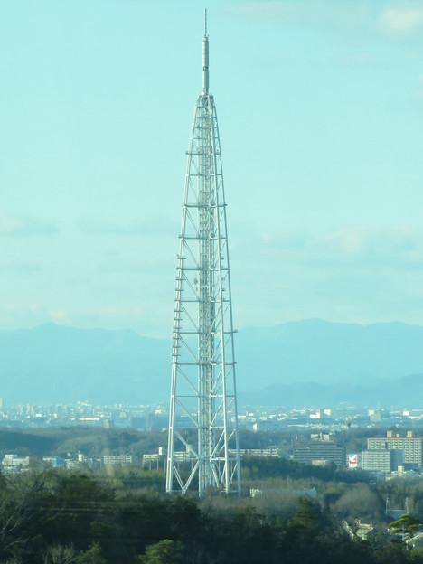 陶磁資料館南駅付近から見た景色 - 2:瀬戸デジタルタワー