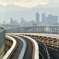 陶磁資料館南駅から撮影した名駅ビル群 - 1