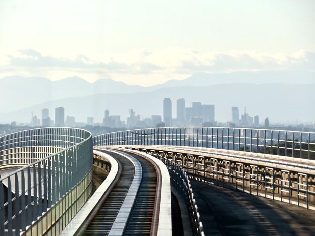 陶磁資料館南駅から撮影した名駅ビル群 - 3