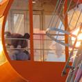 愛・地球博記念公園の大観覧車 - 5:ゴンドラの中にいたバイキンマン(の人形)