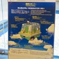 Photos: 愛・地球博記念館 No - 14:清掃ロボット「SUBARU Robohiter RS 1」の説明