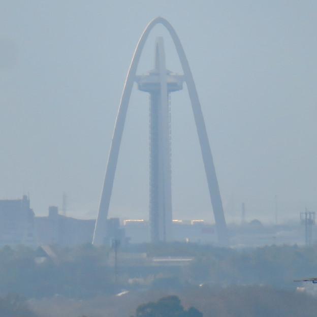 モンキーセンターから見た景色 - 9:ツインアーチ138