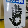 Photos: 日本モンキーセンターの「アフリカセンター」No - 20:ゴリラの手形