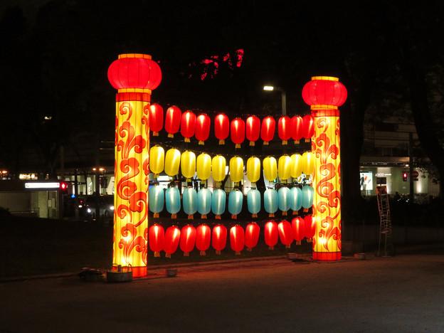 名古屋中国春節祭 2019:夜のイルミネーション - 8