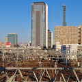 Photos: 向野橋から見たグローバルゲートと中京テレビの塔 - 2