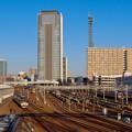 Photos: 向野橋から見たグローバルゲートと中京テレビの塔 - 4
