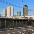 ささしまライブ24から見た名駅ビル群