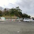 Photos: 東之宮古墳へと通じる歩道入り口と犬山成田山 - 3:パノラマ