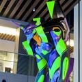 Photos: グローバルゲート1階にエヴァ初号機像が設置 - 2