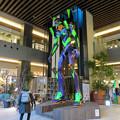 Photos: グローバルゲート1階にエヴァ初号機像が設置 - 3