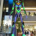 Photos: グローバルゲート1階にエヴァ初号機像が設置 - 7